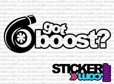 Got Boost ?