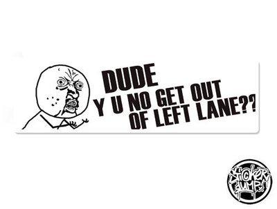 Boxsticker - Left Lane??