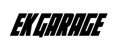 EK Garage - Window sticker #2