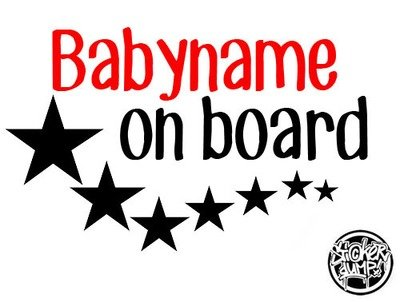 Baby On Board Stars