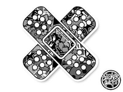 BandAid - StickerBOMB BlackWhite