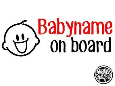 Baby On Board Smiley