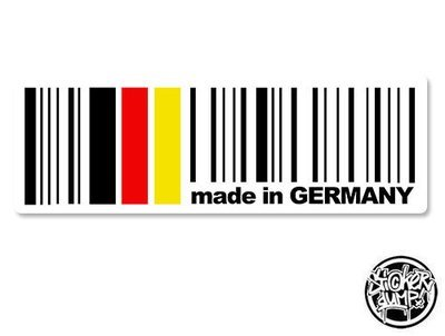 Made In Germany - rectangle