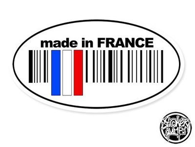 Made In France - oval