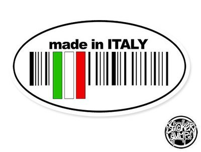 Made In Italy - oval