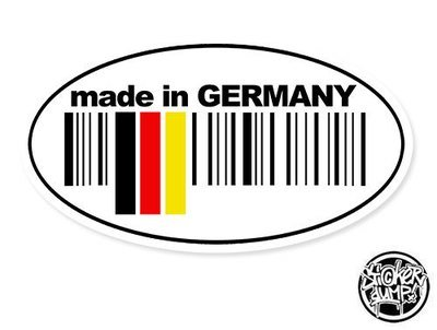 Made In Germany - oval