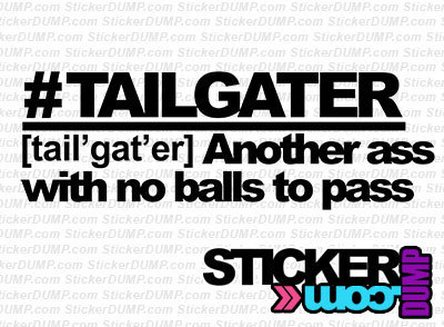 #Tailgater