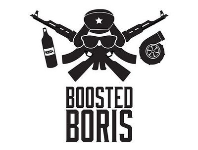 Boosted Boris - Vinyl Cutted Logo