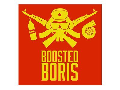 Boosted Boris - Fullcolor Printed