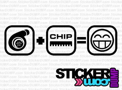 Turbo + Chip  = Smile