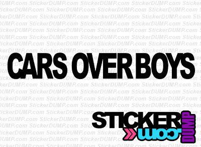 Cars Over Boys