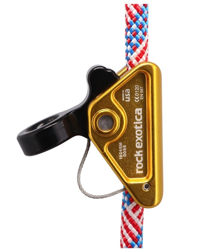 Rock Exotica RockGrab Lanyard Adjuster For Use With 9mm-13 Mm Ropes