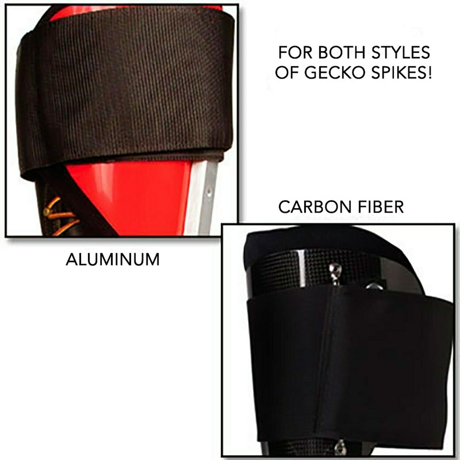 Notch Gecko Upper Velcro Straps Pair