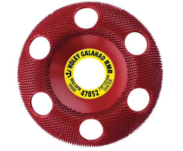 King Arthur Tools Holey Galahad Round Medium Red (RMR)
