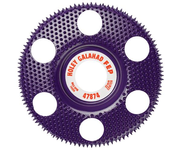 King Arthur Tools Holey Galahad Flat Extreme Course Purple (FEP)