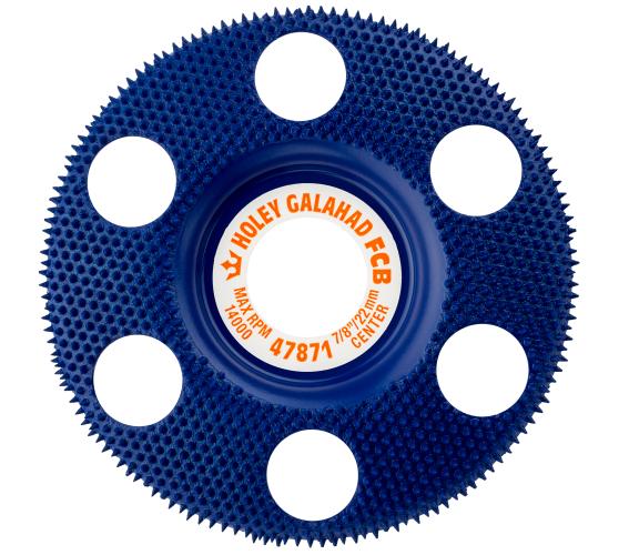 King Arthur Tools Holey Galahad Flat Course Blue (FCB)