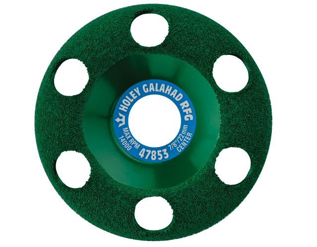 King Arthur Tools Holey Galahad Round Fine Green (RFG)