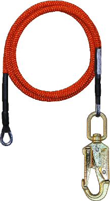 1/2 in x 10' Wire Core Lanyard