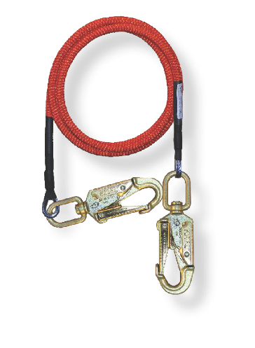 5/8 in x 15' Wire Core Lanyard with 2 Swivel Snaps