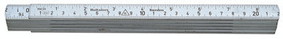 Hultafors Aluminium Folding Rule A61 — 2m, 10 sections