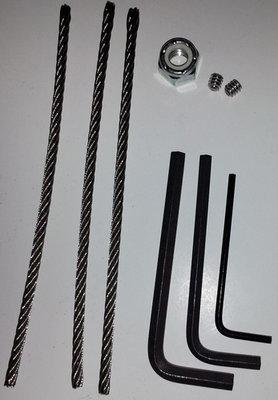 Repair Kit for B52 MACROGRAB Rope Clamp