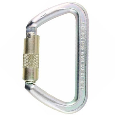 ISC Steel Iron Wizard Carabiner Single-Locking