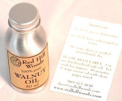 Red Hill Woods Walnut Oil for Boards