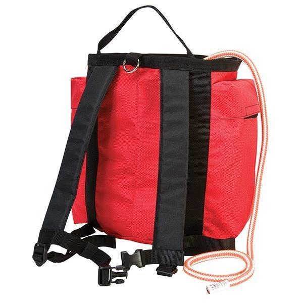 Back Pack Rope Bag, Red