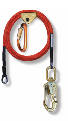 1/2 in x 10' Wire Core Lanyard Kit