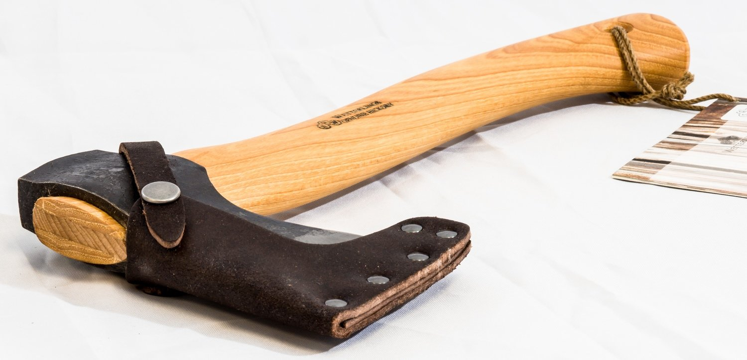 Wetterlings Wildlife Hatchet Axe (Camping) with Sheath, 1.25 lbs.