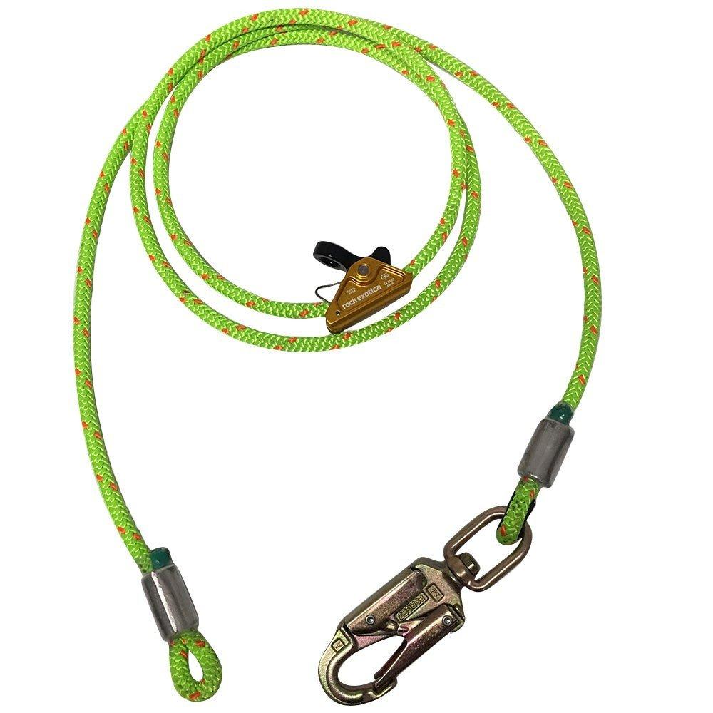 10ft 1/2in RockGrab Wire Core Flipline Steel Snap