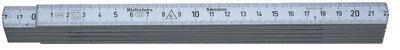 Hultafors Aluminium Folding Rule A59 — 2m, 10 sections
