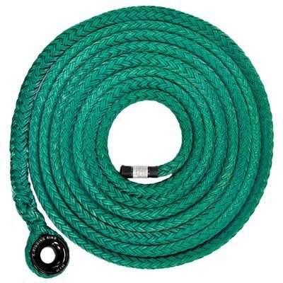 Large Ring on a 25 ft 3/4 in Tenex Straight Sling