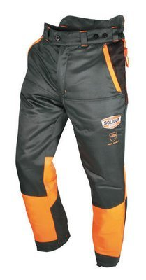 Authentic Lumberjack Trousers—Grey/Orange