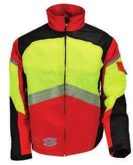 Authentic Work Jacket—Red/Yellow