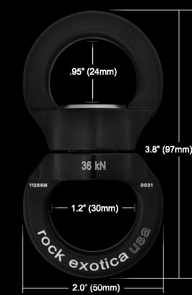 Rotator Round Swivel (Large)
