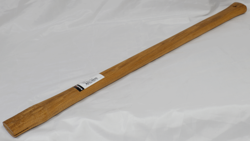 Axe Shaft With Wooden Wedge—Spare Handle for Splitting Axe SLY