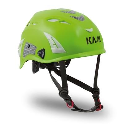 Kask Superplasma HI VIZ Helmet — Lime Fluorescent