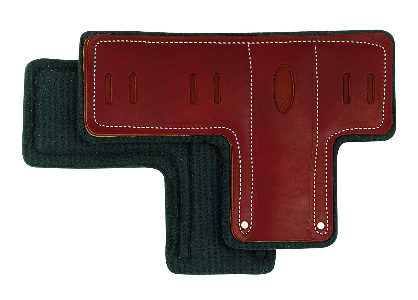 Pair of T-Shaped Climber Pads with Felt Liner
