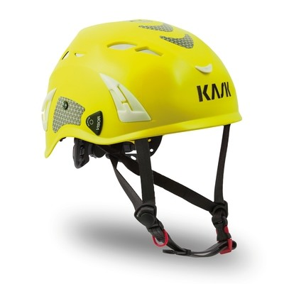 Kask Superplasma HI VIZ Helmet — Yellow Fluorescent