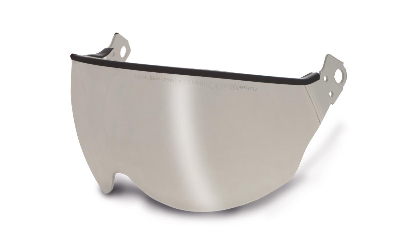 Kask Polycarbonate Visor — Silver Mirror