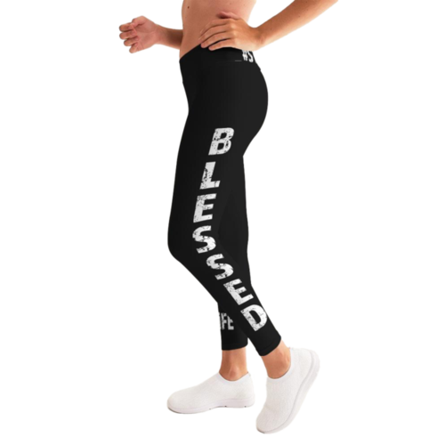 Blessed Graphic Style Womens Leggings
