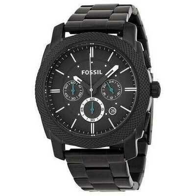 Fossil Men's PR5404 Machine Collection Chronograph Black Stainless Steel Watch
