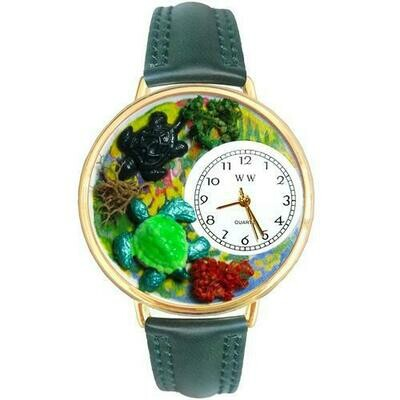 Turtles Watch in Gold (Large)