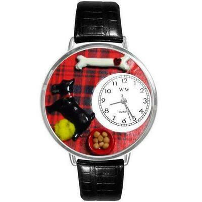 Scottie Watch in Silver (Large)