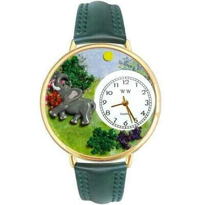 Elephant Watch in Gold (Large)