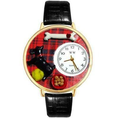 Scottie Watch in Gold (Large)