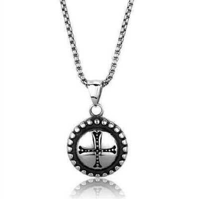 TK2009 - Stainless Steel Necklace High polished (no plating) Men No Stone No Stone