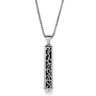 TK2007 - Stainless Steel Necklace High polished (no plating) Men No Stone No Stone