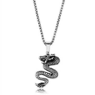 TK1986 - Stainless Steel Necklace High polished (no plating) Men No Stone No Stone